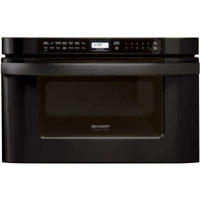 Insight Pro 1.2 cu. ft. Countertop Microwave in Black with Sensor Cooking-DISCONTINUED