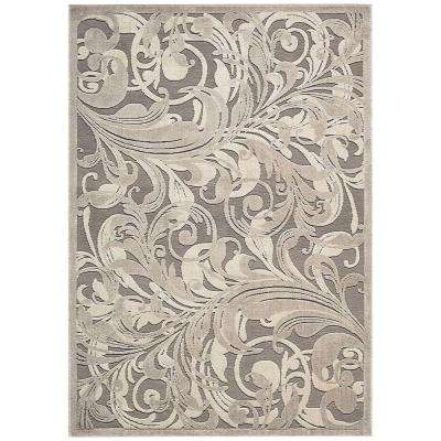 Graphic Illusions Gycam 7 ft. 9 in. x 10 ft. 10 in. Area Rug