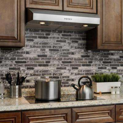 30 in. Kitchen Under Cabinet Range Hood in Stainless Steel