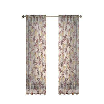 Sheer Curtains beige sheer curtains : Window Elements - Sheer - Curtains & Drapes - Blinds & Window ...