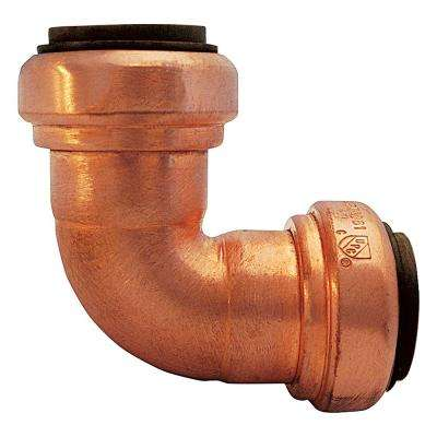 3/4 in. Copper Push-to-Connect Elbow