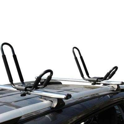 150 lbs. Steel Kayak and Canoe Roof Rack with Padding