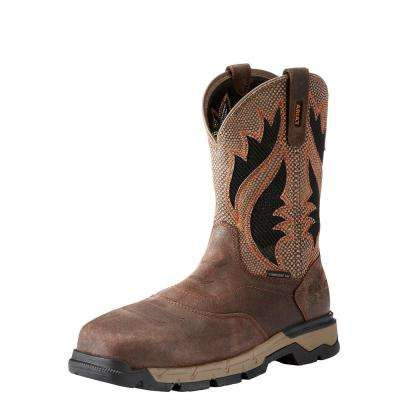 Men's Rebar Western Venttek Composite Toe Work Boot