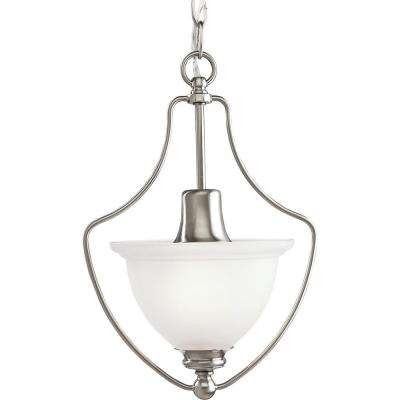 Madison Collection 1-Light Brushed Nickel Pendant