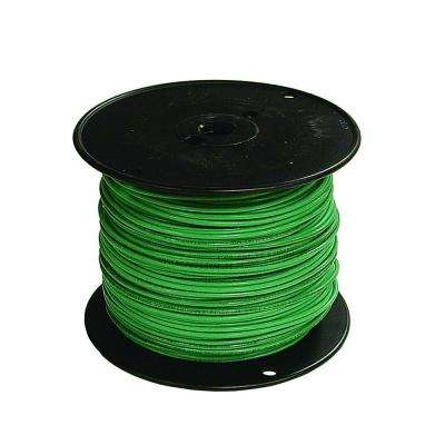 500 ft. 16 Green Stranded CU TFFN Fixture Wire
