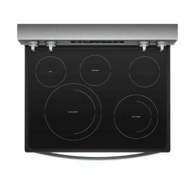 6.4 cu. ft. Electric Range in Fingerprint Resistant Stainless Steel with Frozen Bake Technology
