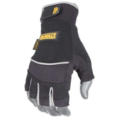 Fingerless Synthetic Palm Performance Work Glove