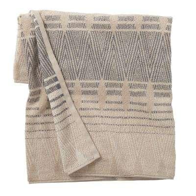 Diamond Edge Cotton Bath Towel