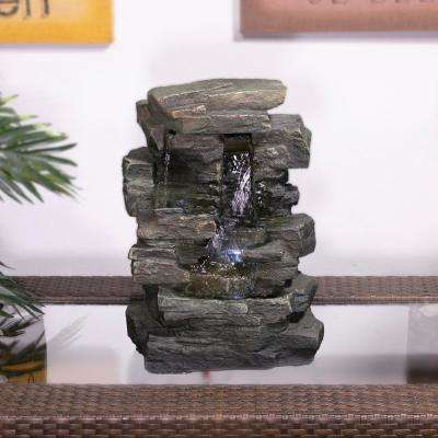 13 in. Waterfall Tabletop Fountain