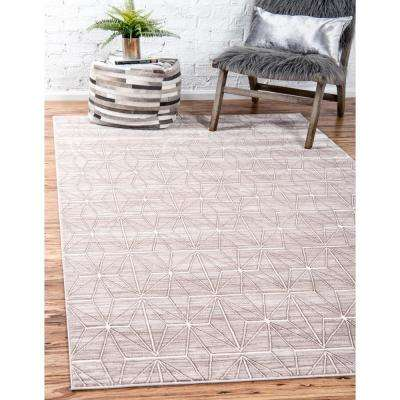 Uptown Collection by Jill Zarin™ Fifth Avenue Light Brown 9' 0 x 12' 0 Area Rug