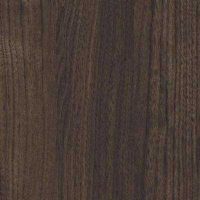 3 in. x 5 in. Laminate Sample in Florence Walnut with a Fine Velvet Texture