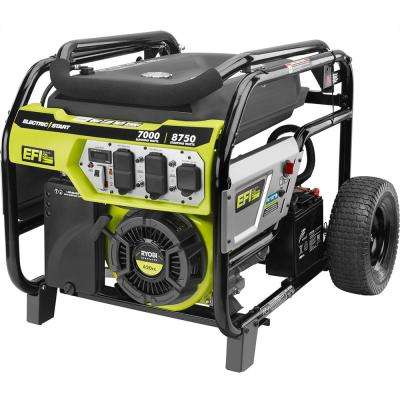 7000-Watt Electronic Fuel Injected Gasoline Powered Electric Start Portable Generator