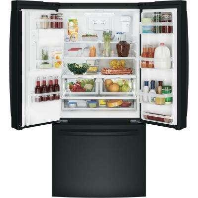 23.7 cu. ft. French Door Refrigerator in Black, ENERGY STAR
