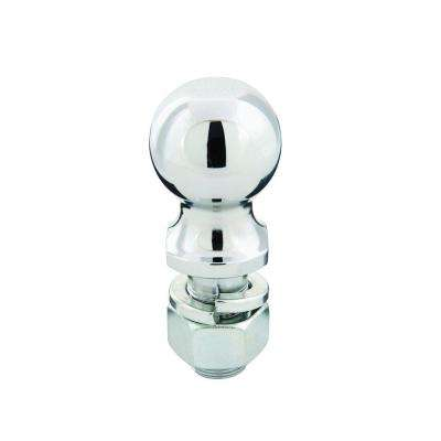 5,000 lb. Capacity 2 in. x 1 in. Shank Diameter x 2 in. Shank Length Chrome Hitch Ball