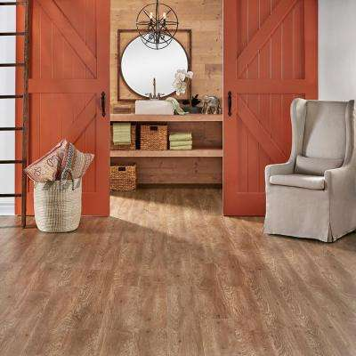 Embossed Foxtail 6 mm x 7-1/16 in. Width x 48 in. Length Vinyl Plank Flooring (23.64 sq.ft./case)