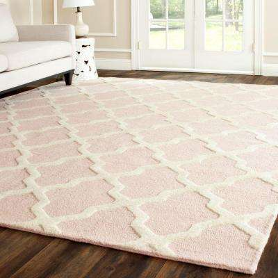 Cambridge Light Pink/Ivory 8 ft. x 10 ft. Area Rug