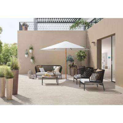 Livingstyle Pearl 24 in. x 24 in. Porcelain Paver Tile (14 pieces / 56 sq. ft. / pallet)