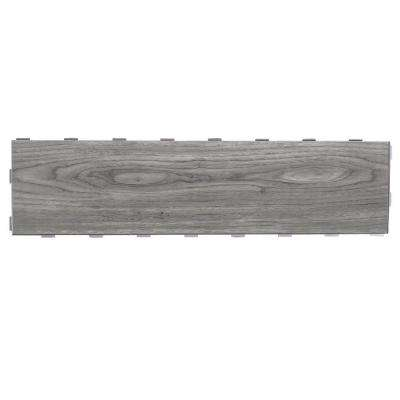 Weathered Grey 6 in. x 24 in. Porcelain Floor Tile (5 sq. ft. / case)