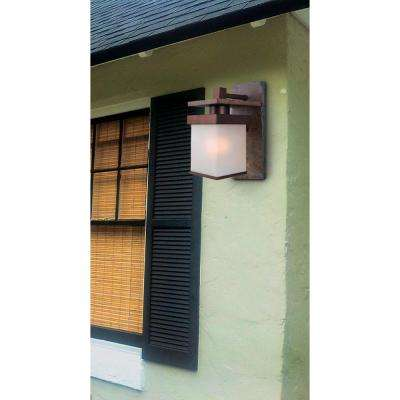 Boulder Copper Outdoor Large Wall-Mount Lantern