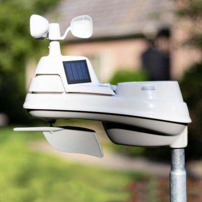 High-Definition 5-in-1 Weather Station with Wi-Fi to Weather Underground