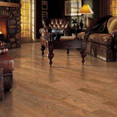 Hickory Chestnut Scrape 3/8 in. Thick x 5-1/4 in. Wide x Varying Length Click Hardwood Flooring (22.5 sq. ft.)