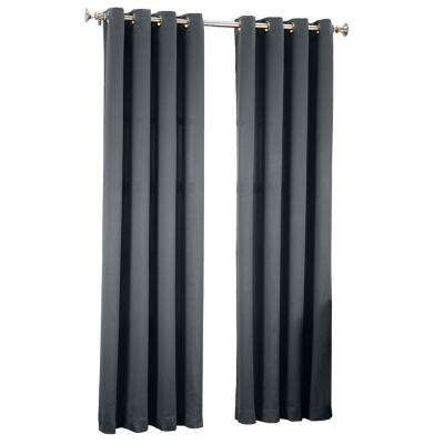 Gregory Room Darkening Grommet Top Curtain Panel