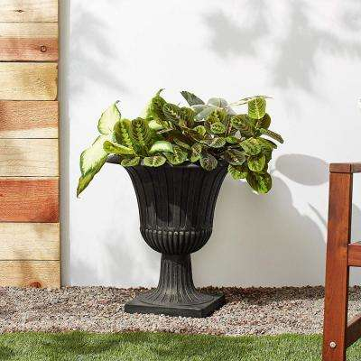 Worthington 20 in. x 21 in. Black PSW Urn
