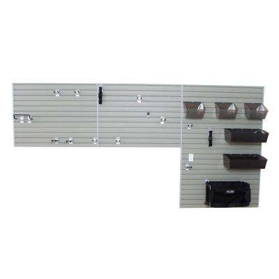 72 in. H x 144 in. W Garage and Hardware Wall Storage Set