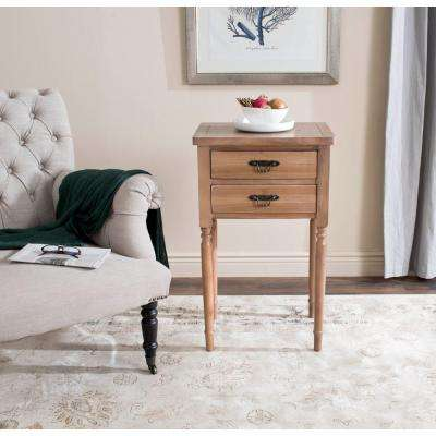 Marilyn Honey Natural End Table