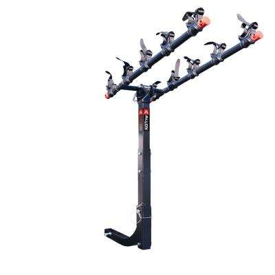 175 lbs. Capacity 5 Bike Vehicle 2 in. Hitch Bike Rack