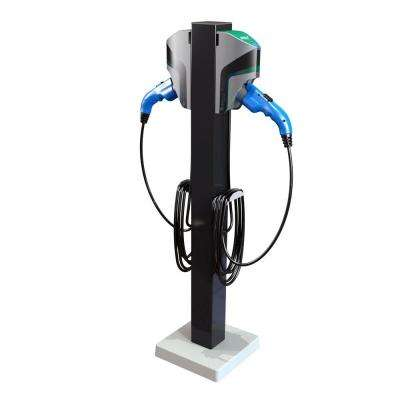 20 ft. 16-Amp 120/240-Volt Commercial/Workplace EV Charging Stations with Dual Pedestal