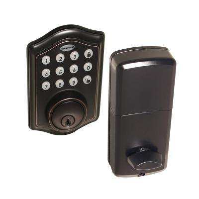 Electronic Oil Rubbed Bronze Deadbolt