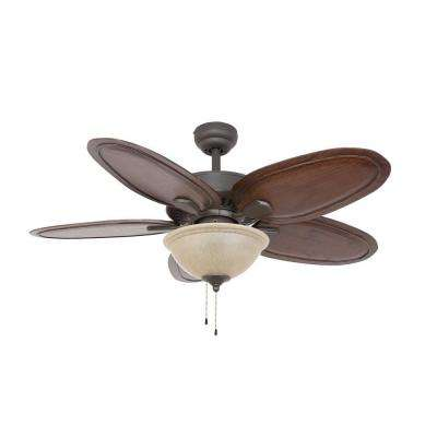 Halifax 52 in. Bronze Ceiling Fan