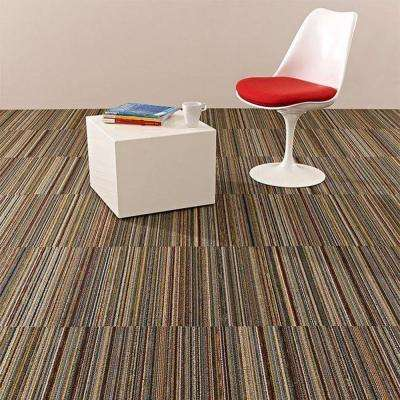 Flux Multi 24 in. x 24 in. Modular Carpet Tile Kit (18 Tiles/Case)
