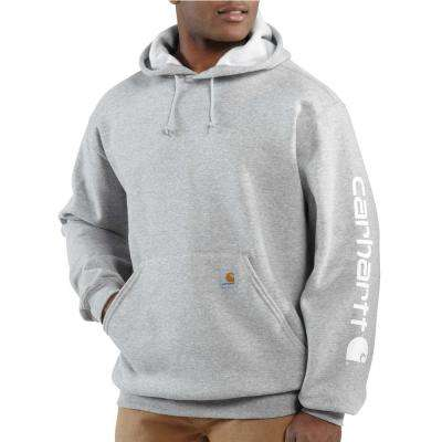 Men's Cotton Polyester MW Signature Sleeve Logo Hooded Sweatshirt