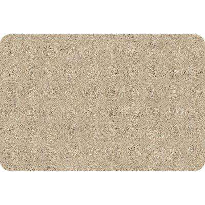 DirtStopper Brown and White 20 in. x 30 in. Absorbent Mat