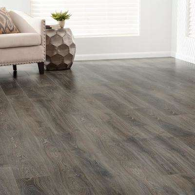 Embossed Madre Oak 12 mm Thick x 7.48 in. Wide x 50.55 in. Length Laminate Flooring (21.01 sq. ft. / case)