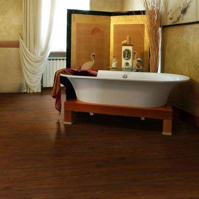 Allure Ultra 7.5 in. x 47.6 in. Red Mahogany Luxury Vinyl Plank Flooring (19.8 sq. ft. / case)