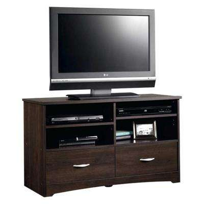 Beginnings Collection 46 in. Panel TV Stand in Cinnamon Cherry
