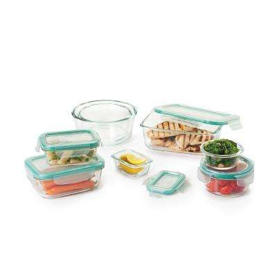 Good Grips 16-Piece Smart Seal Glass Container Set
