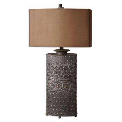 34 in. Olive Bronze Table Lamp