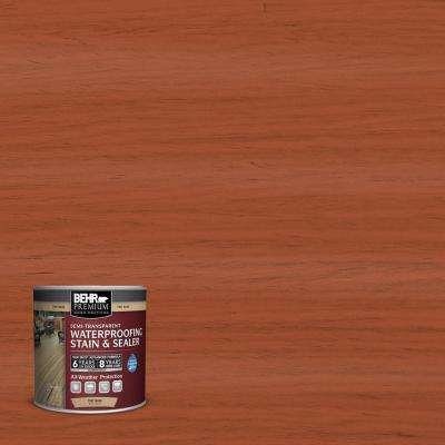 8 oz. #ST136 Royal Hayden Semi-Transparent Waterproofing Stain and Sealer Sample