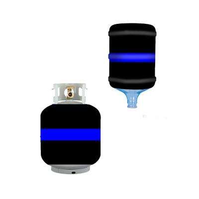 Thin Blue Line Propane Tank Cover/5 Gal. Water Cooler Cover
