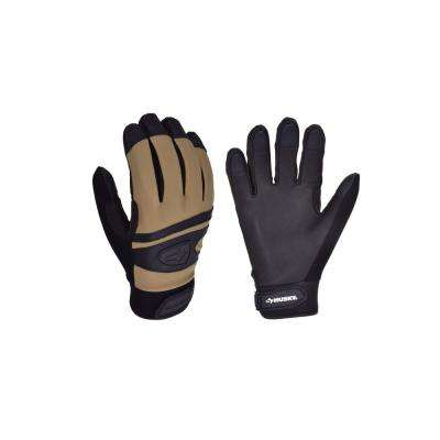 2PK Goat Leather High Dexterity Medium Duty Glove