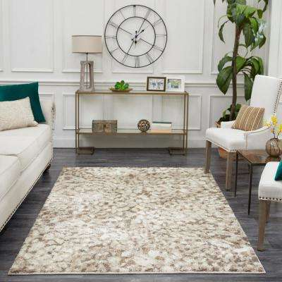 Claremont White Smoke 8 ft. x 10 ft. Area Rug