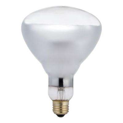 125-Watt Incandescent BR40 Heat Clear Light Bulb