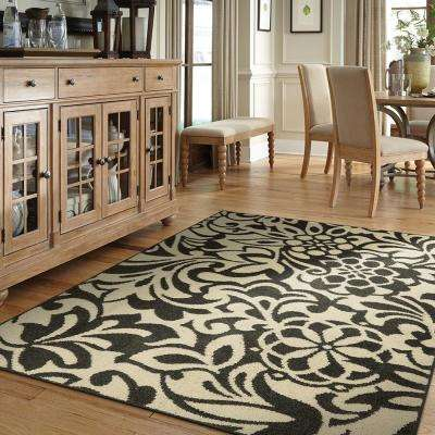 Simpatico Earth Gray Starch 2 ft. x 8 ft. Runner Rug