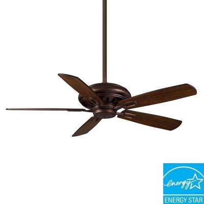 Holliston DC 60 in. Brushed Cocoa Ceiling Fan-DISCONTINUED