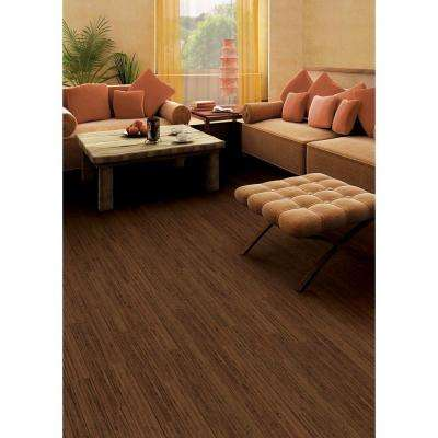 Hand Scraped Strand Woven Almond 1/2 in. x 7.48 in. x 72.835 in. Engineered Click Bamboo Flooring (30.268 sq. ft. /case)