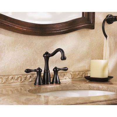 Marielle 4 in. Minispread 2-Handle Bathroom Faucet in Tuscan Bronze